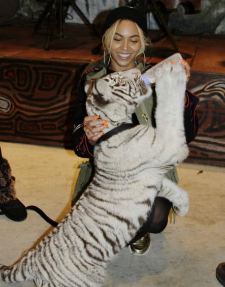 Beyoncé : l'amie des bêtes