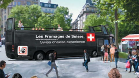 Fromages de Suisse chefs bus