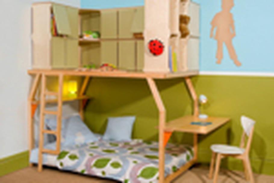Espace loggia kids, du mobilier pour les enfants