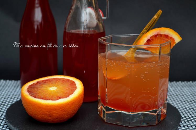 Sirop à l'orange sanguine