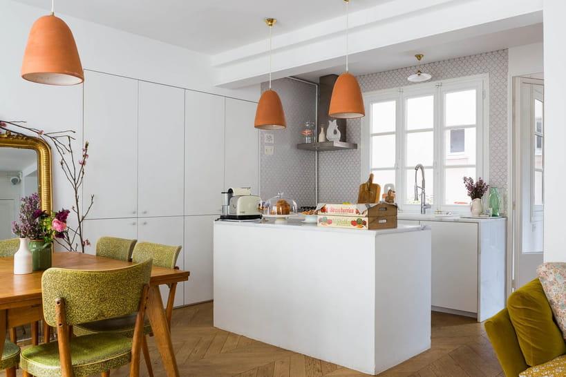 50belles cuisines ouvertes pour faire le plein de convivialité