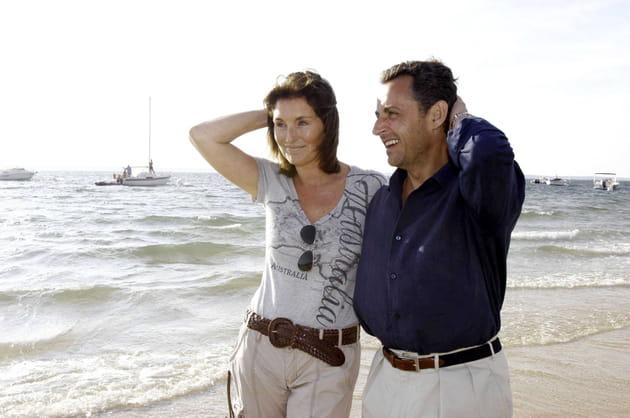 Cécilia Attias et Nicolas Sarkozy à Pyla-sur-Mer (2006)
