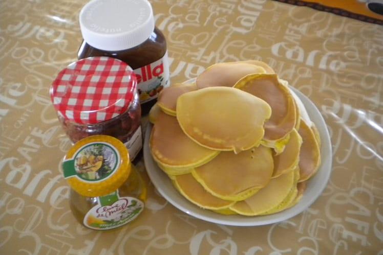 Pancakes tendres et délicieux