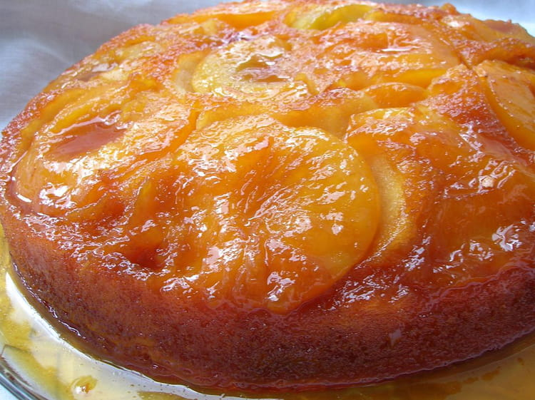 recette dessert peche