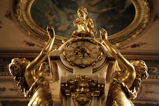 Horloge du salon Napoléon