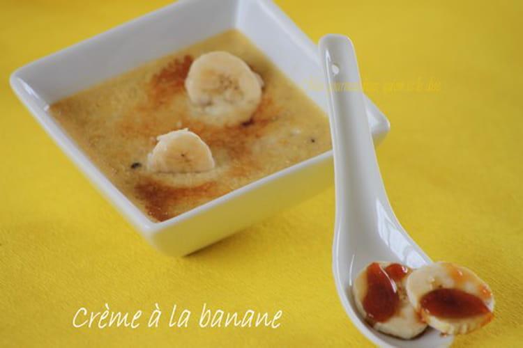 Crème à la banane