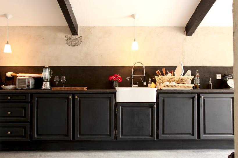 Comment Repeindre Ses Meubles De Cuisine - Canapé 3 places pour relooking de cuisine