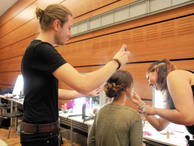 Salon du mariage au Carrousel du Louvre: les coiffures!