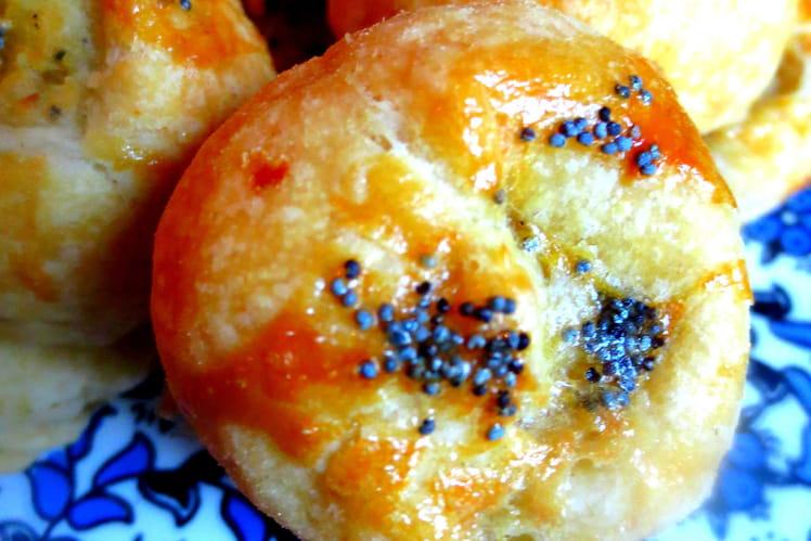 Knishes de pommes de terre et oignons