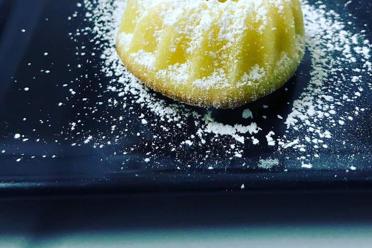 Moelleux au citron individuels