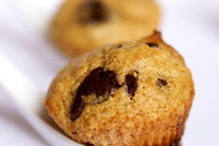 Muffins amarula-chocolat
