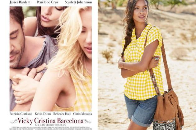 """Une chemise à carreaux façon Cristina dans """"Vicky Cristina Barcelona"""""""