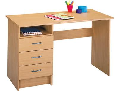 Un bureau traditionnel for Petit bureau conforama