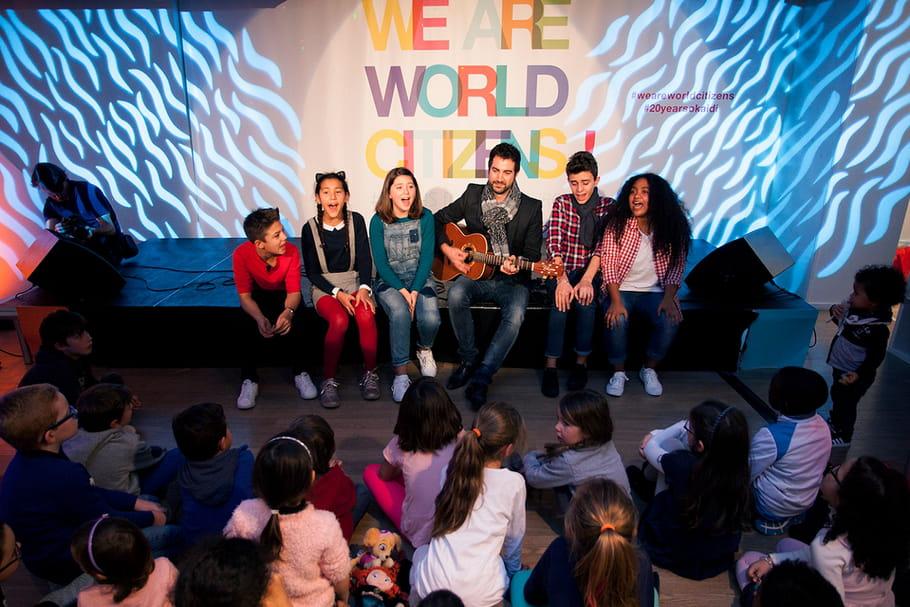 Les enfants chantent pour leurs droits
