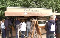Amorino : un nouveau kiosque au Jardin des Tuileries