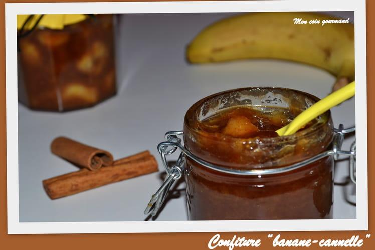 Confiture banane-cannelle