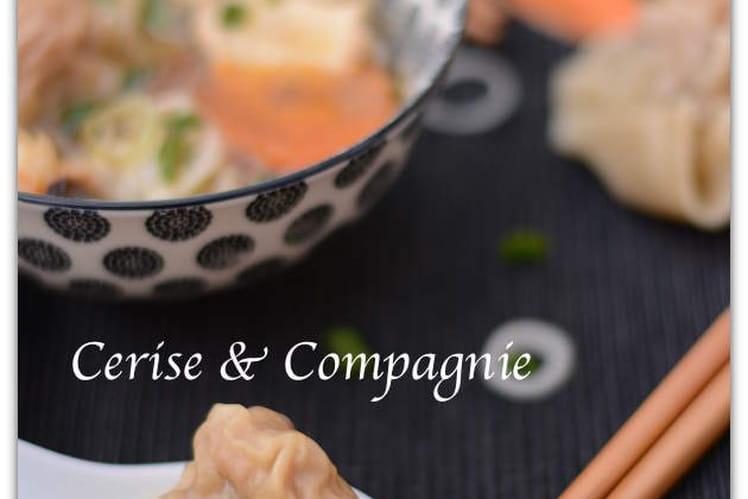 Raviolis chinois aux crevettes