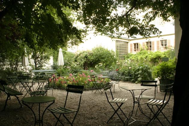 Le jardin du Musée de la Vie Romantique à Paris