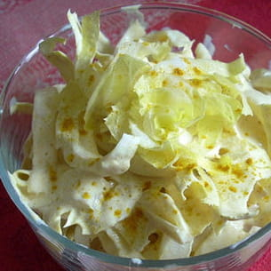 salade d'endives au curry