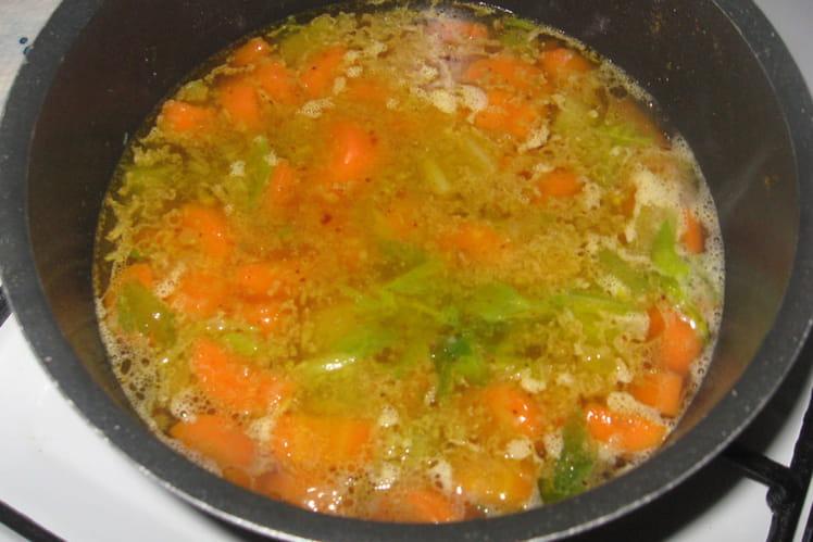 Crème de carottes au céleri