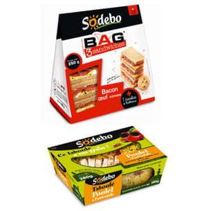sandwich et taboulé de sodebo