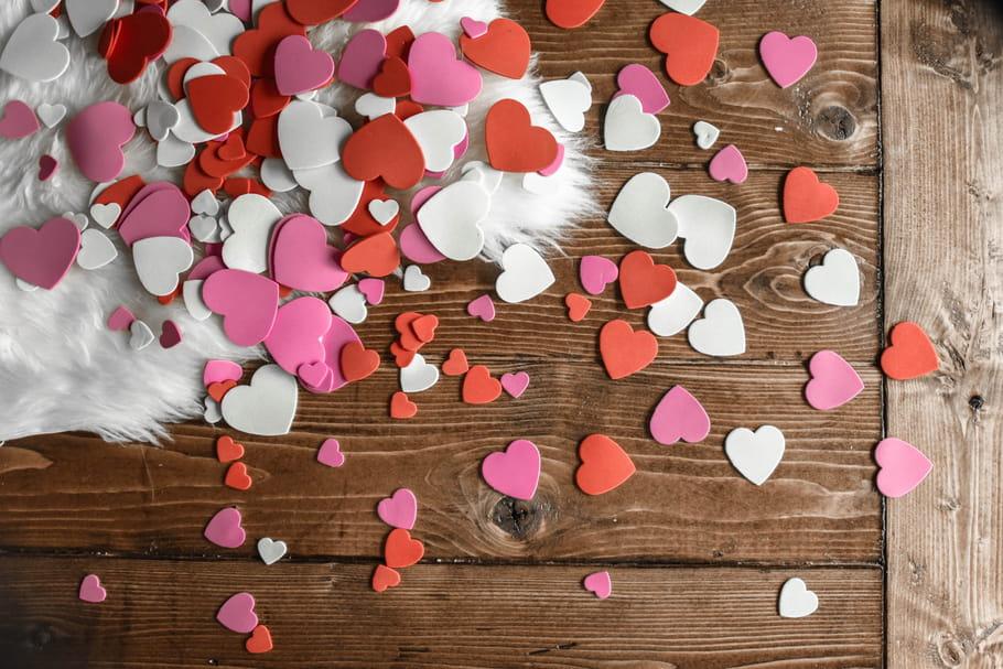 Déco Saint-Valentin: idées à faire soi-même, déco de table