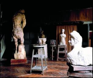 le musée antoine bourdelle dans le xve arrondissement à paris.