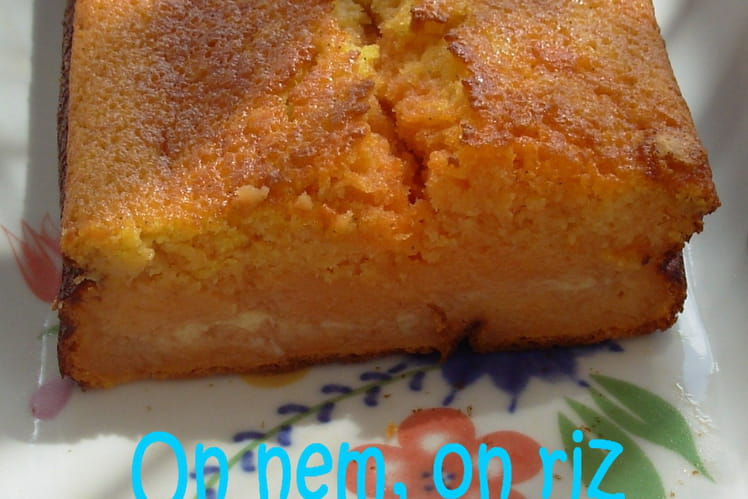 Cake melon-pastèque au muscat