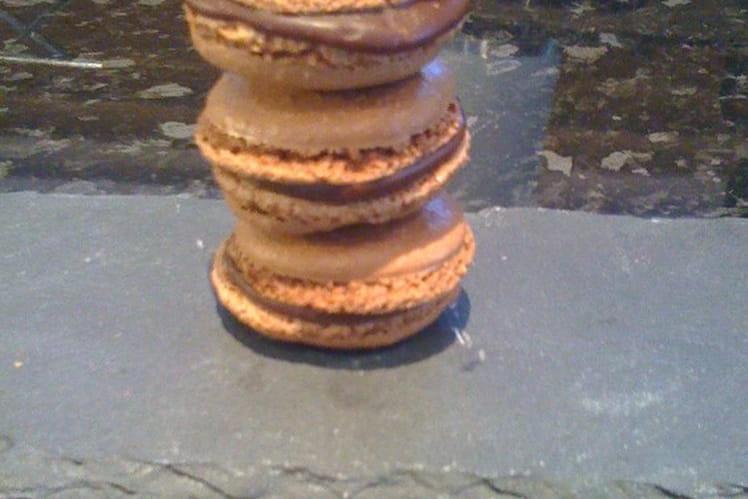 Macarons au chocolat faciles