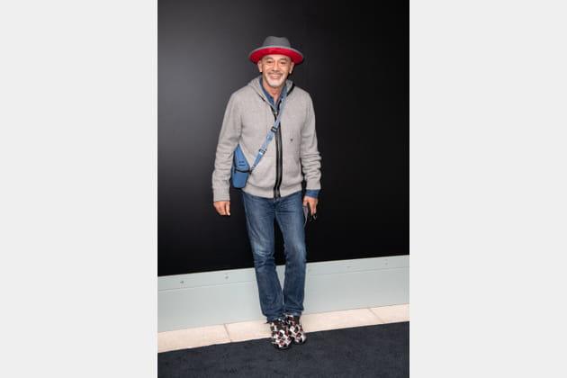 Christian Louboutin au défilé Louis Vuitton