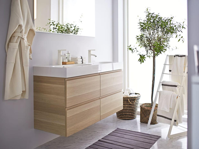 salle de bains nature. Black Bedroom Furniture Sets. Home Design Ideas