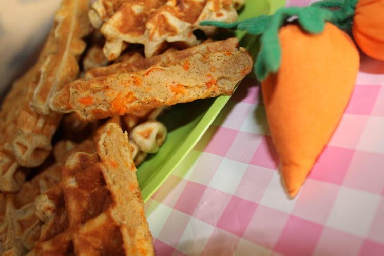 Gaufres à la carotte et au cumin
