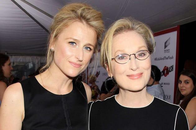 Merryl Streep et sa fille Mamie