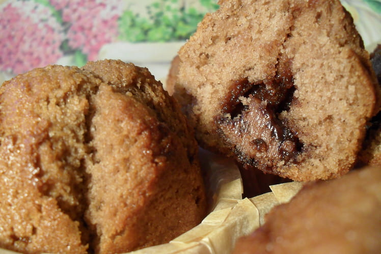 Muffins à la pâte à tartiner Ovomaltine