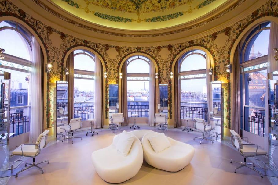 Coiffirst Paris s'installe à la rotonde du salon du Printemps Haussmann