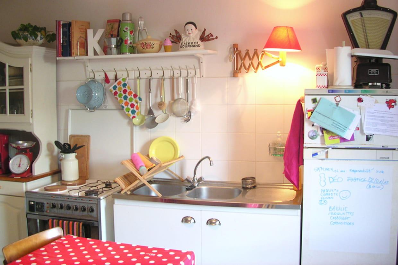Une cuisine conviviale et fonctionnelle for Cuisine conviviale
