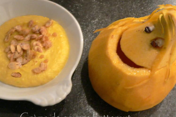 Crème de courge butternut