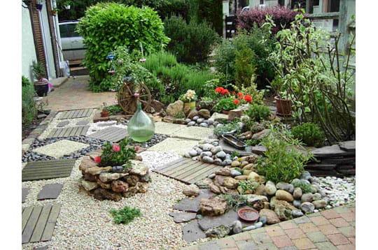 Patchwork jardiné