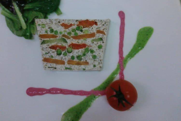 Terrine de légumes aux champignons