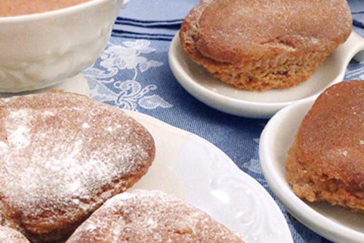 Mini gâteaux à la crème de marrons
