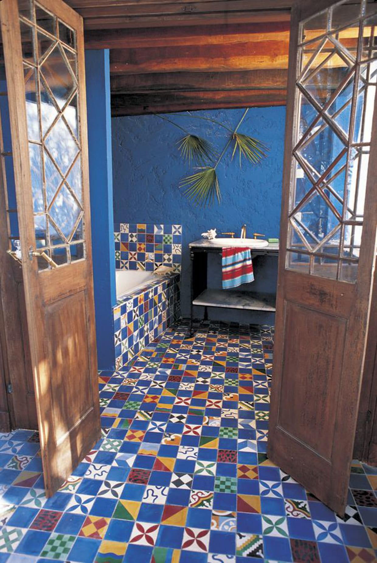 carrelage villa des parfums de carocim. Black Bedroom Furniture Sets. Home Design Ideas