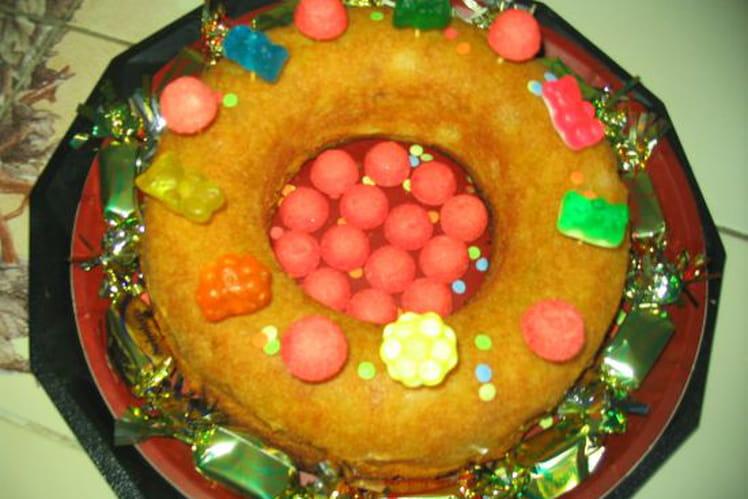 Gâteau aux deux fruits