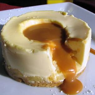 entremets mousse vanillé au mascarpone