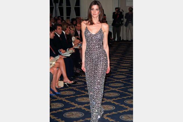 Stephanie Seymour le 29avril 1998
