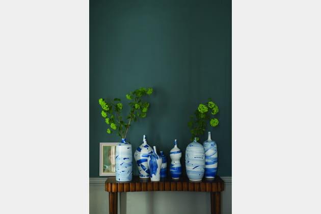 peinture inchyra blue par farrow ball. Black Bedroom Furniture Sets. Home Design Ideas