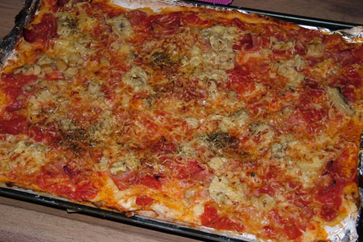 La pizza du chef