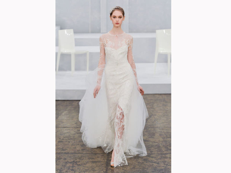 La robe l g re monique lhuillier for Monique lhuillier robes de mariage