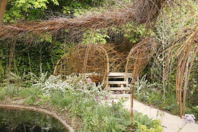jardin le paradis de la pie. Black Bedroom Furniture Sets. Home Design Ideas