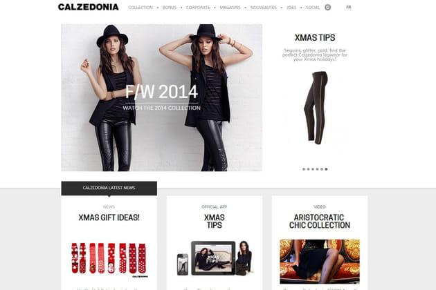 Le e-shop de Calzedonia