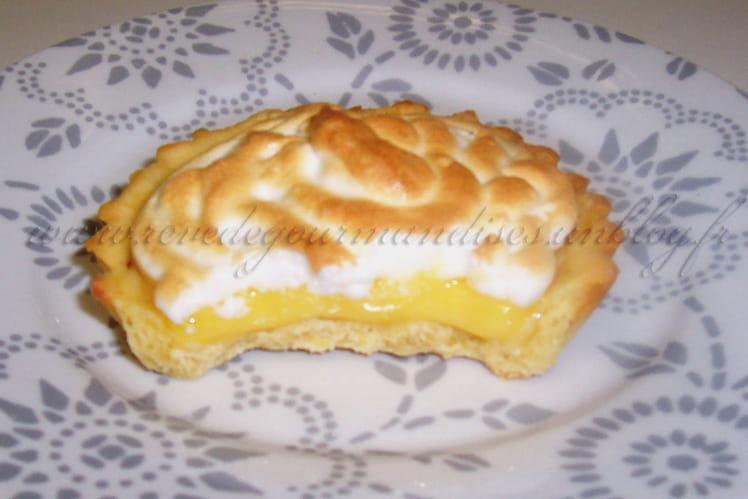 Tartelettes au citron meringuées fondantes et légères